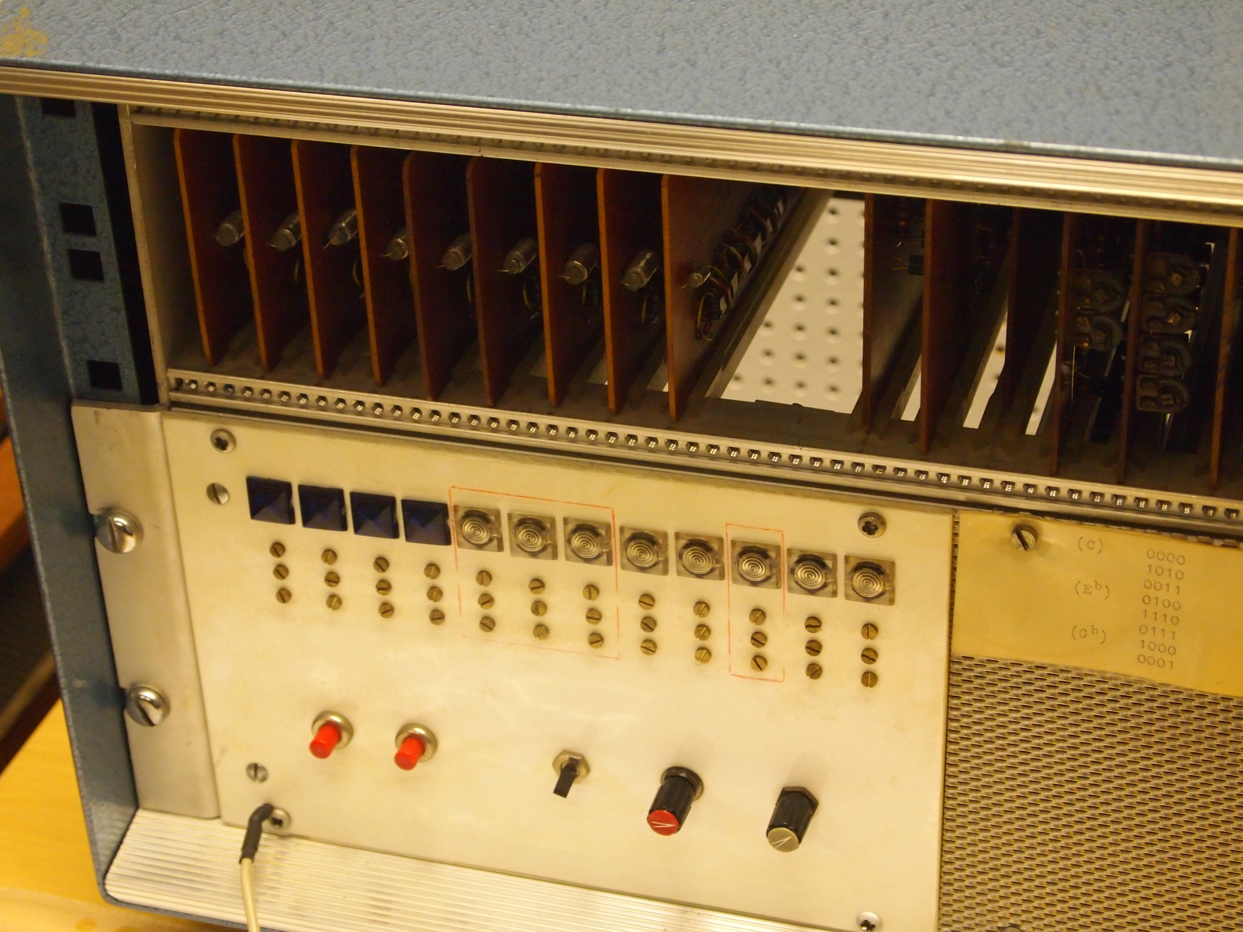 Kurenniemi Sequencer Synthesizer from the 1970s