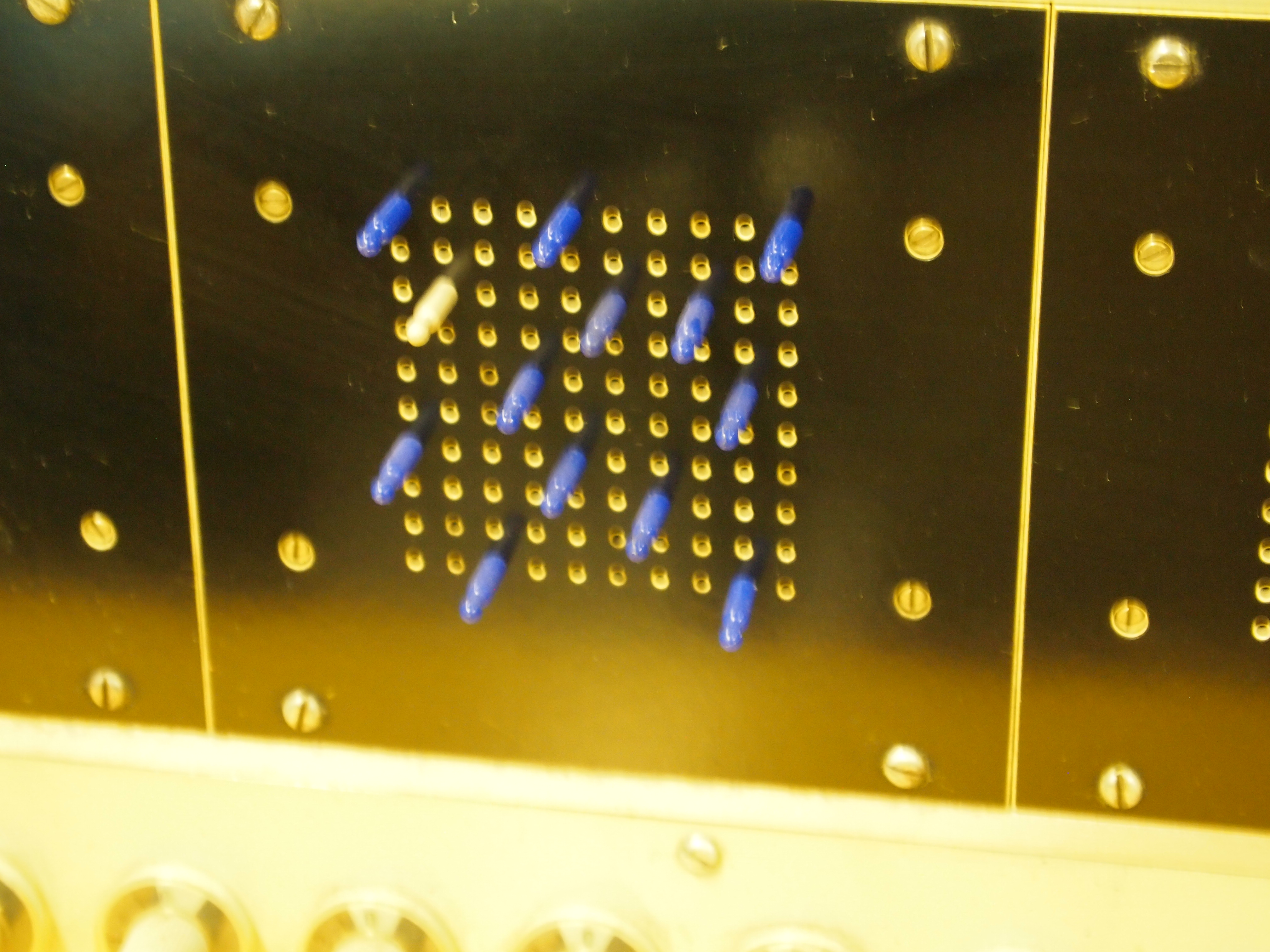 Kurenniemi Instrument from the 1960s, Part of a 3 unit synthsizer